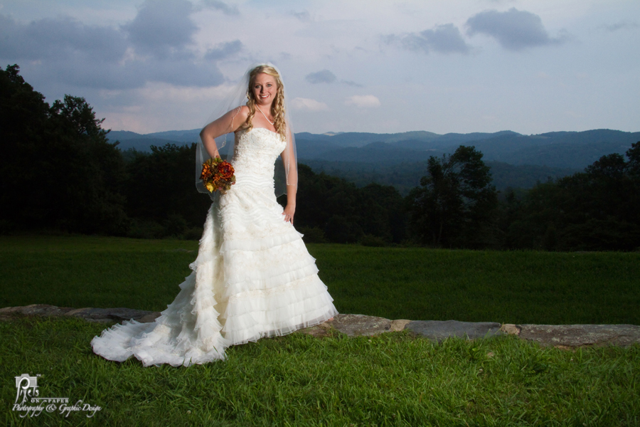 Ambers Blue Ridge Parkway Bridal Photos by Pixels On Paper