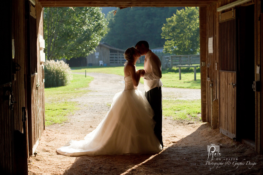 Mercedes And Nathan's Outdoor Wedding Pictures At