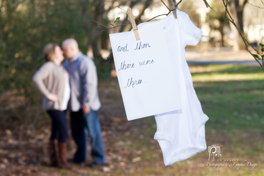 The announcement of baby huffman maternity photography nc mountain photographers
