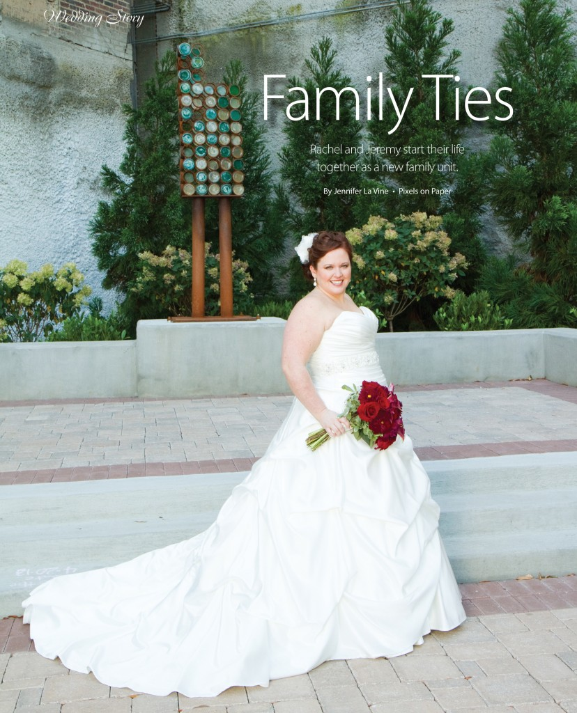 CBRIDE APR JUN 40 photo 828x1024 rachel & jeremys charlotte wedding photography featured in carolina bride magazine