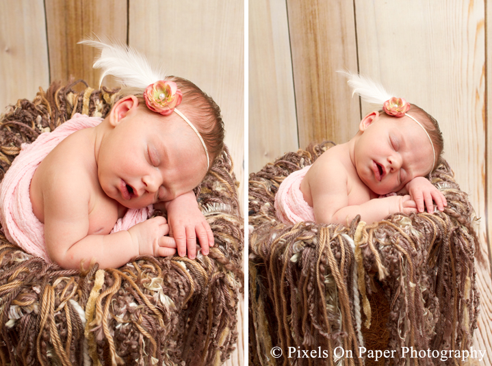 Maddie newborn photography Pixels On Paper wilkesboro boone nc portrait photography photo