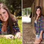 Tiffany's country senior portrait photography by Pixels On Paper Photography photo