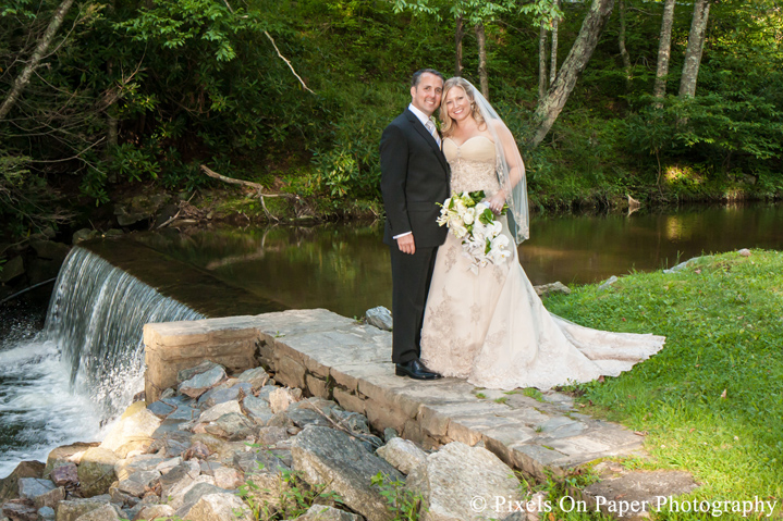 Bride & Groom Photo Chetola Resort Blowing Rock NC