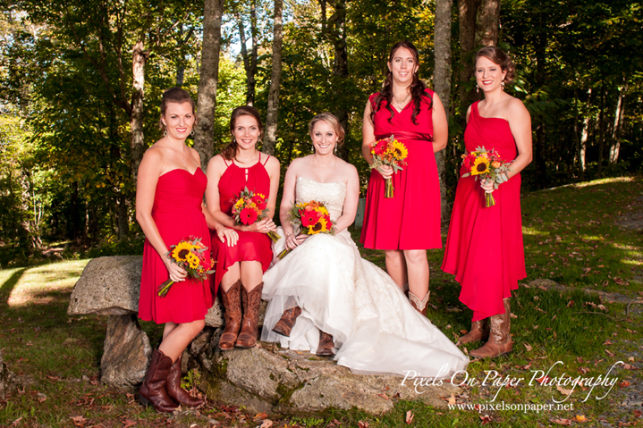 Angela and Andrew's Country Rustic Alpen Inn Beech Mountain NC wedding. Pixels On Paper Boone, Blowing Rock, Asheville, Greensboro, Winston Salem NC wedding photographers photo