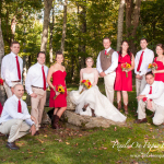 Angela & Andrew's Country Rustic Alpen Inn Beech Mountain NC High Country Wedding photo