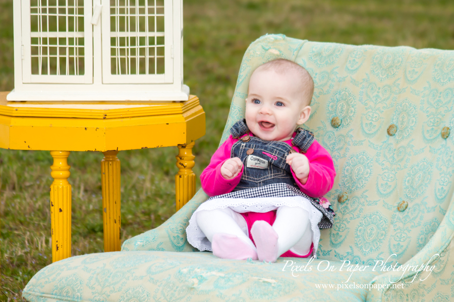 Amelia's outdoor spring portrait photography photo