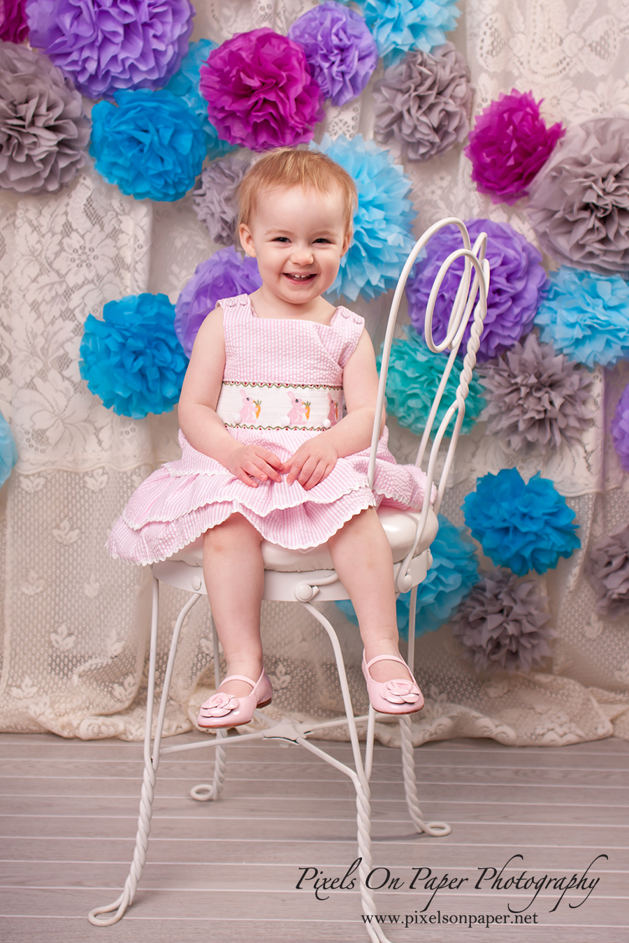 Amelia Minick Easter Studio Portrait Photographer Photo