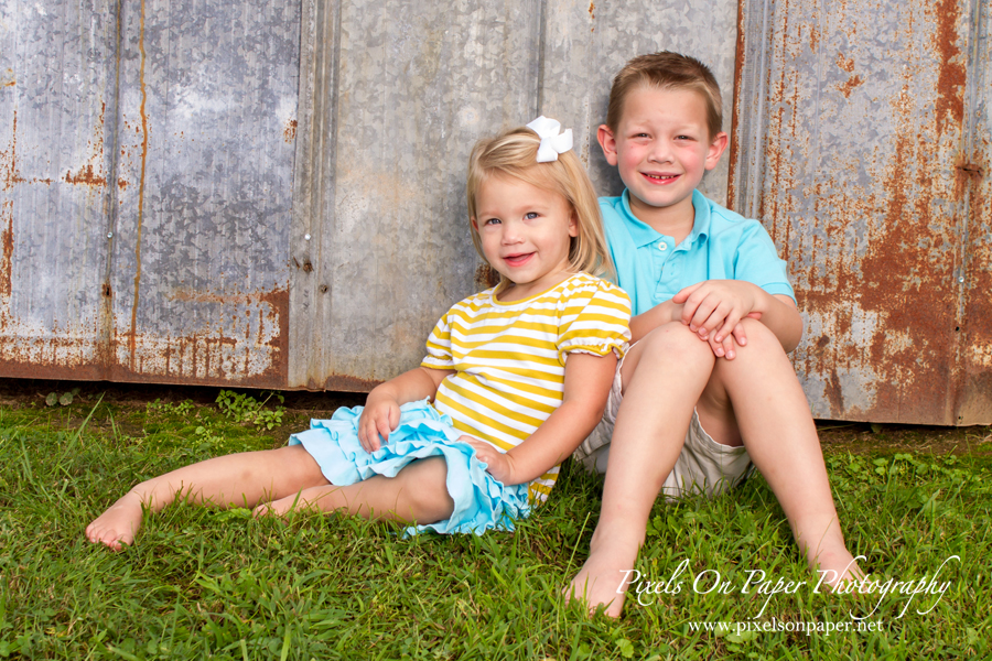 Pixels On Paper NC Photographers outdoor family portrait photo