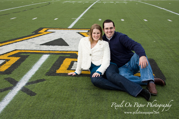 pixels on paper appalachian university ASU mountaineers football engagement photo