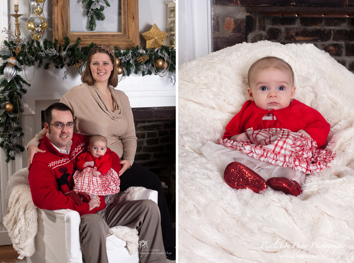 pixels on paper family christmas portrait studio photo