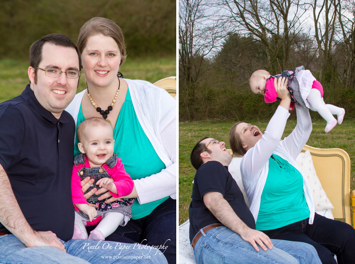 pixels on paper nc family portrait photographers outdoor family photo
