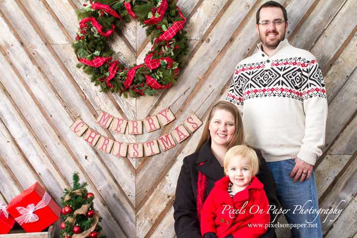 pixels on paper wilkesboro nc mountains outdoor family christmas portrait photo