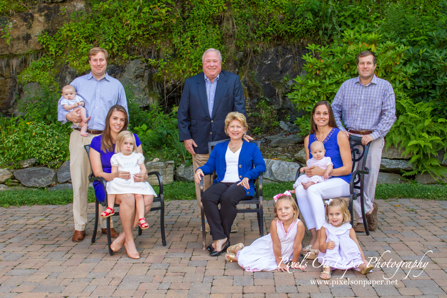 Pixels on Paper 3 Generations of Family in Linville NC Outdoor photo