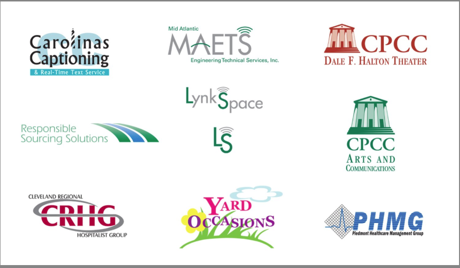 Logo designs for variety of clients graphic design photo