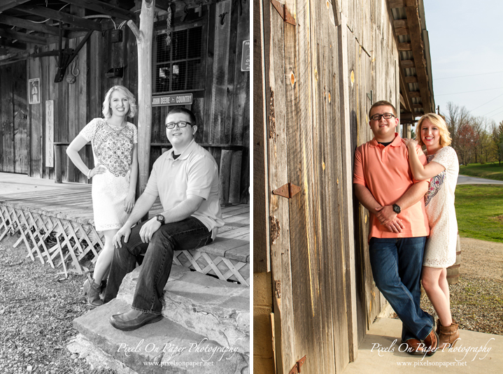 Parsons engagement portrait photography by Wilkesboro NC Photographers Pixels On Paper photos