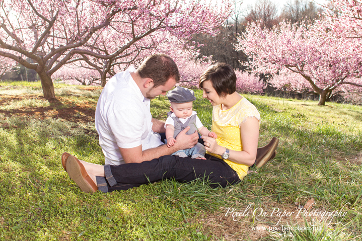 Mathis Family Spring outdoor portrait photography photo