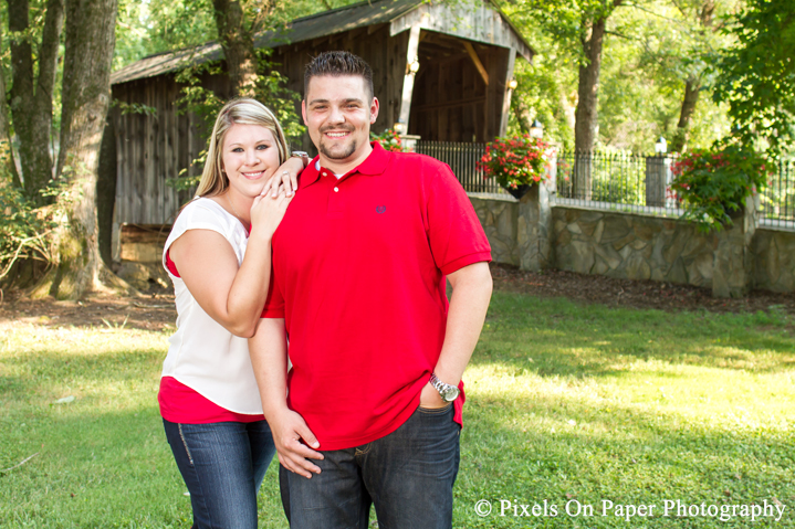 Goforth/Harrison Pixels On Paper Photography Engagement portrait photography photo