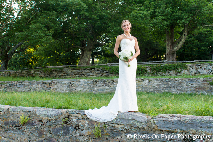 Blowing Rock NC Bridal portrait wedding photography by Wilkesboro NC Photographers Pixels On Paper photo