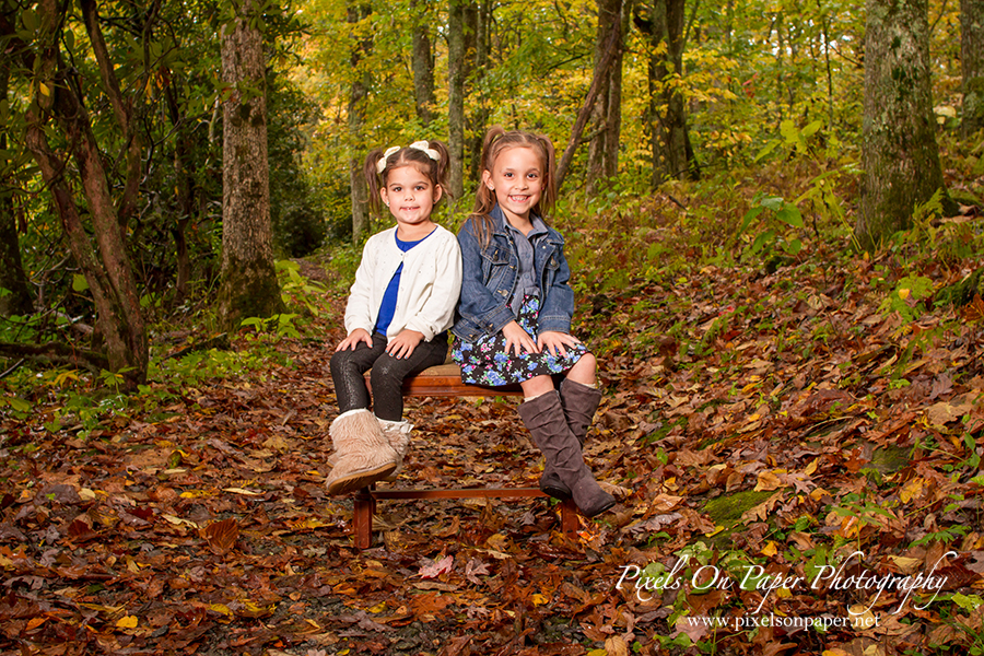 Pixels On Paper NC Mountain Fall Outdoor Family Portrait Photographers photo