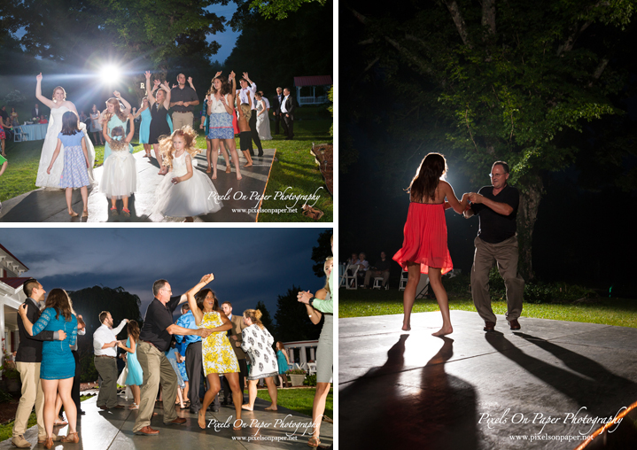 Pixels On Paper NC Mountain Wilkesboro Outdoor Wedding Photographers Bethany Church Todd NC and Doughton Hall Bed and Breakfast Reception Photo