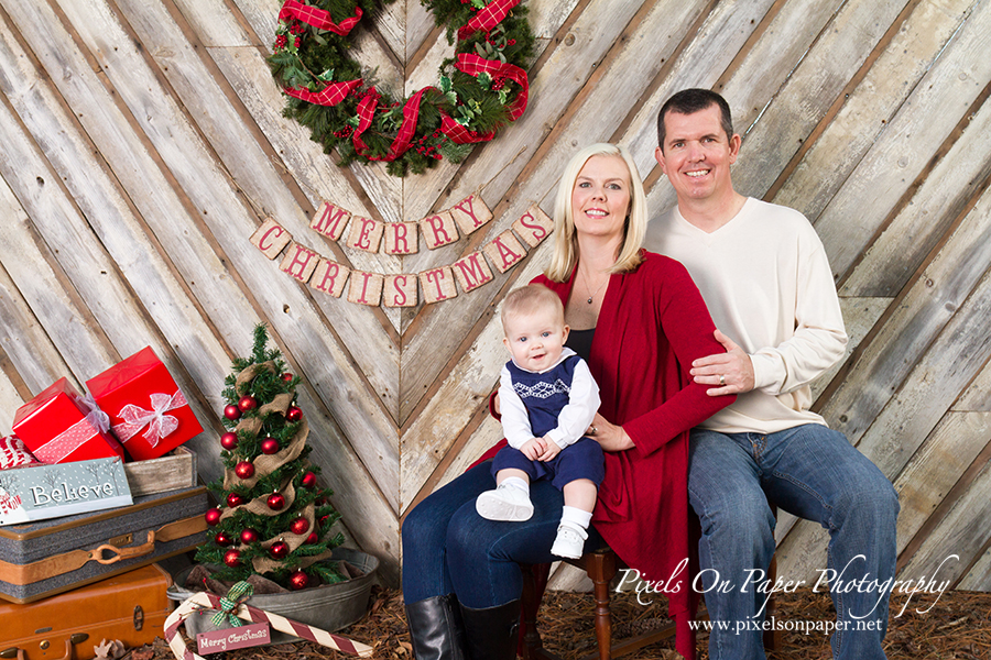 Pixels on Paper Christmas Holiday Portrait Sessions 2015 photo