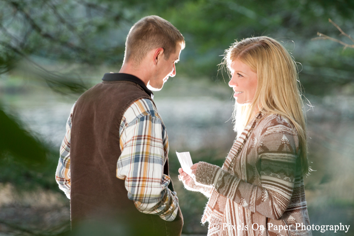Pixels On Paper photographers high country wedding blowing rock nc engagement photo