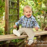Brock's 12 month baby photography, pixels on paper studio family portrait photography photo