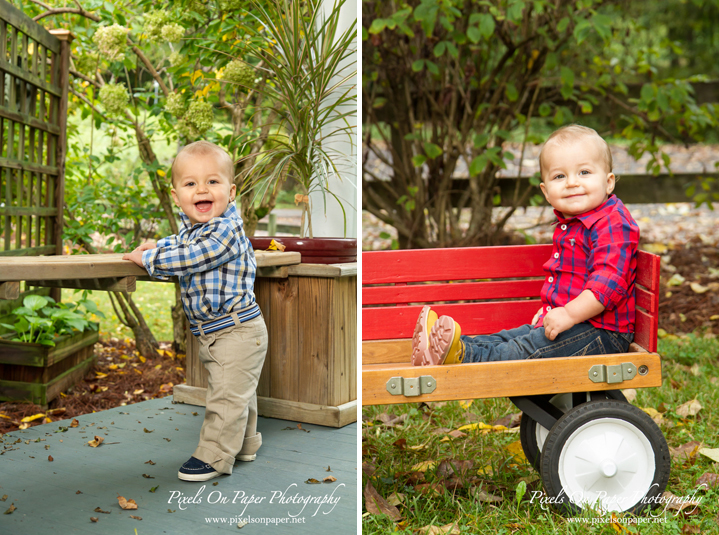 Brock's 12 month baby photography, pixels on paper studio family portrait photography