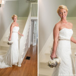Elisabeth Bolick studio formal bridal portrait photo