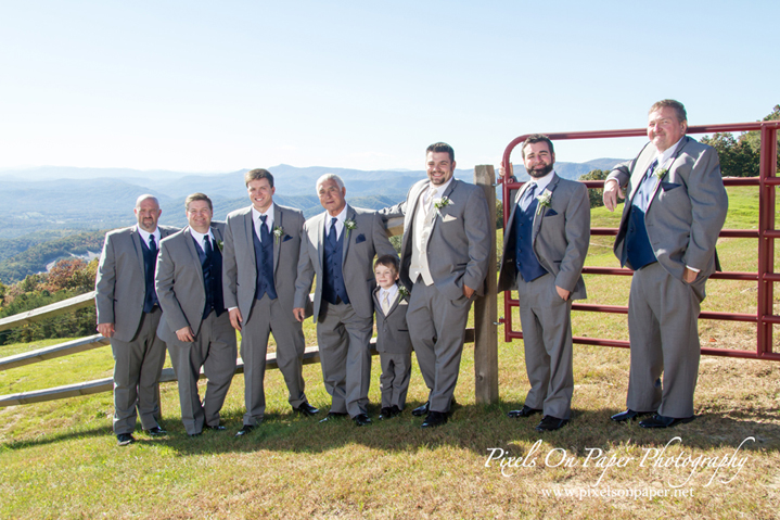 Pixels On Paper NC Mountain outdoor fall boone blowing rock nc wedding photographers photo