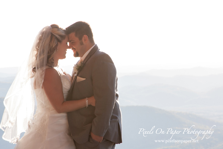 Goforth/Harrison Pixels On Paper nc mountain outdoor wedding photographers photo