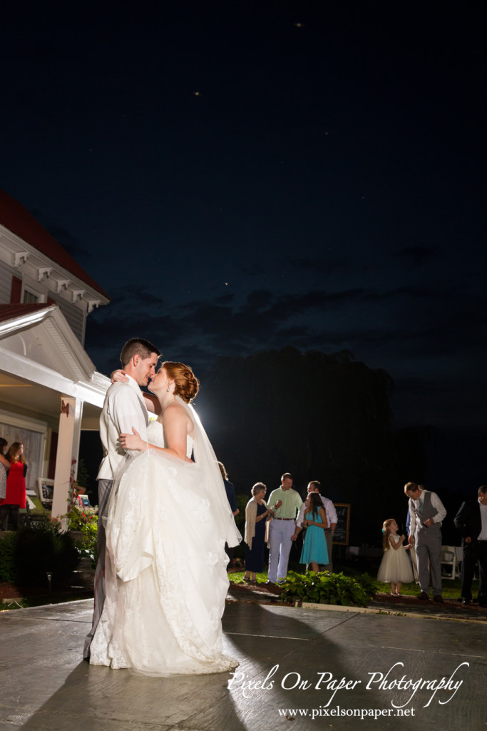 Pixels on Paper wedding portraits outdoors - 2015 highlights photo