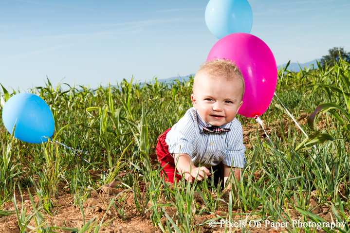 Carson Mathis one year portrait photography photo