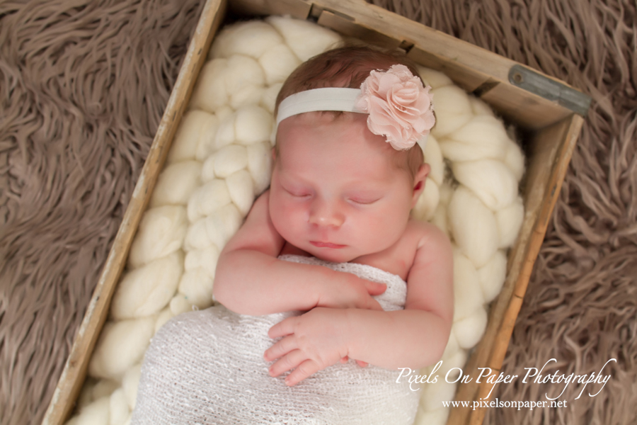 Sawyer Sherill Newborn Photography by Pixels On Paper Portrait Photography photo