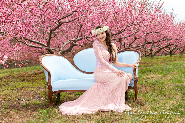 prom boho fashion portrait photography by Wilkesboro NC Photographers Pixels On Paper photo