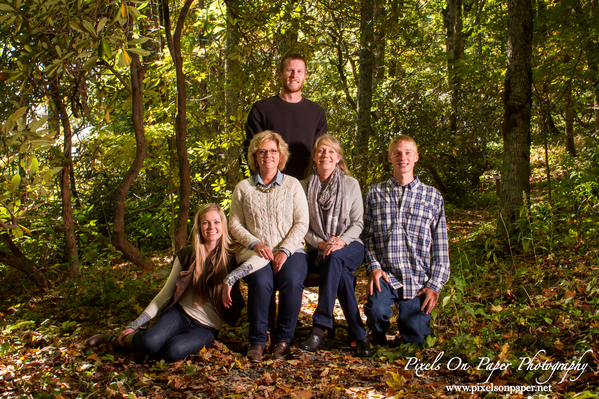 Parker Outdoor Family Portrait Photography