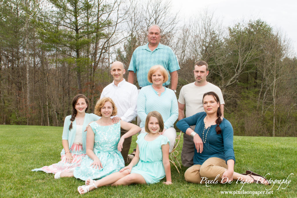 The Picard Family Descended Upon NC Mountains To Celebrate Easter Together