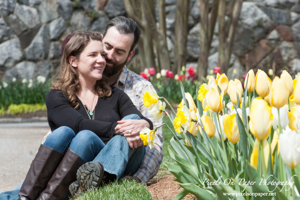 Pixels on Paper engagement photography biltmore estate photo