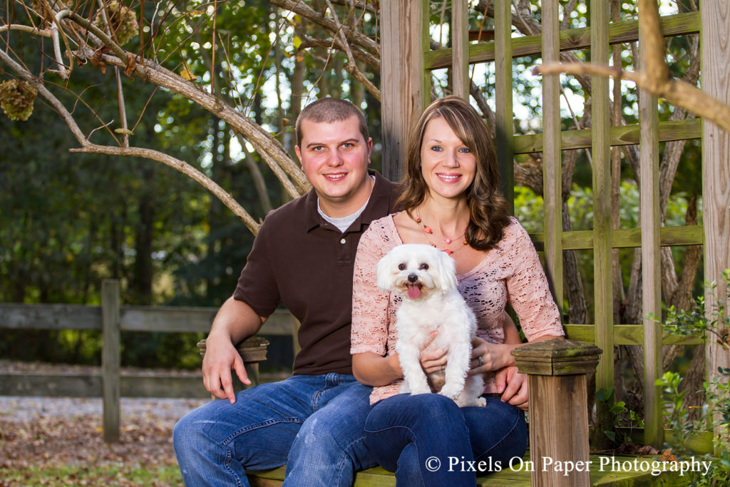 pixels on paper photography Colburn Outdoor Family Portrait garden photo