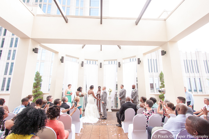 Pixels on Paper Photography Wedding Venue Charlotte Holiday Inn photo
