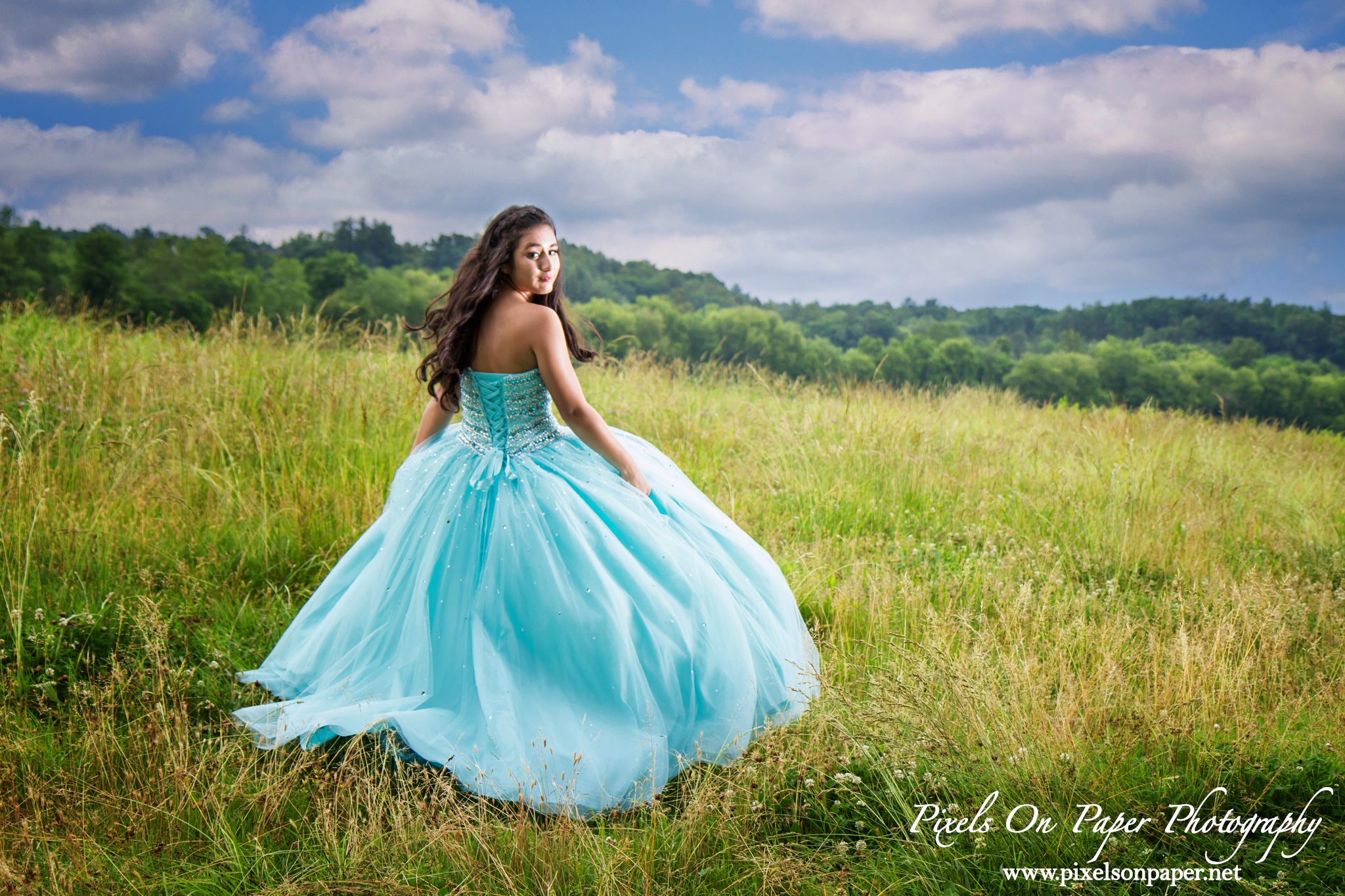 Quinceanera dress pictures Pixels On Paper photograpers Wilkesboro, Boone, Winston Salem NC photo