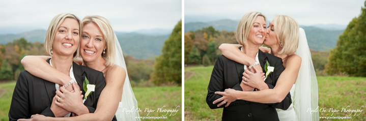 Pixels On Paper Photographers On The Windfall West Jefferson NC Boone Blowing Rock same sex outdoor Wedding photo