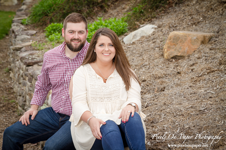 Madi and Preston Roberts West Jefferson NC Outdoor Engagement Photos by Pixels On Paper portrait and wedding photographers photo