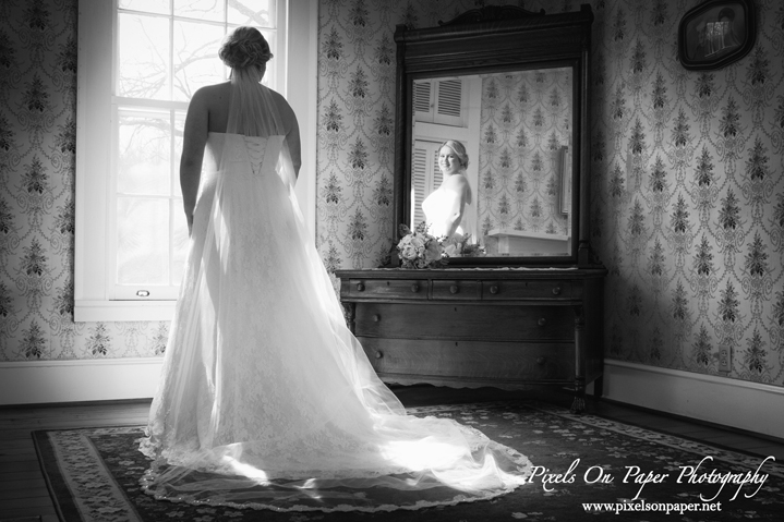 Kendra Green Bell Pixels On Paper Photography Wilkesboro NC Bride Bridal portrait photo