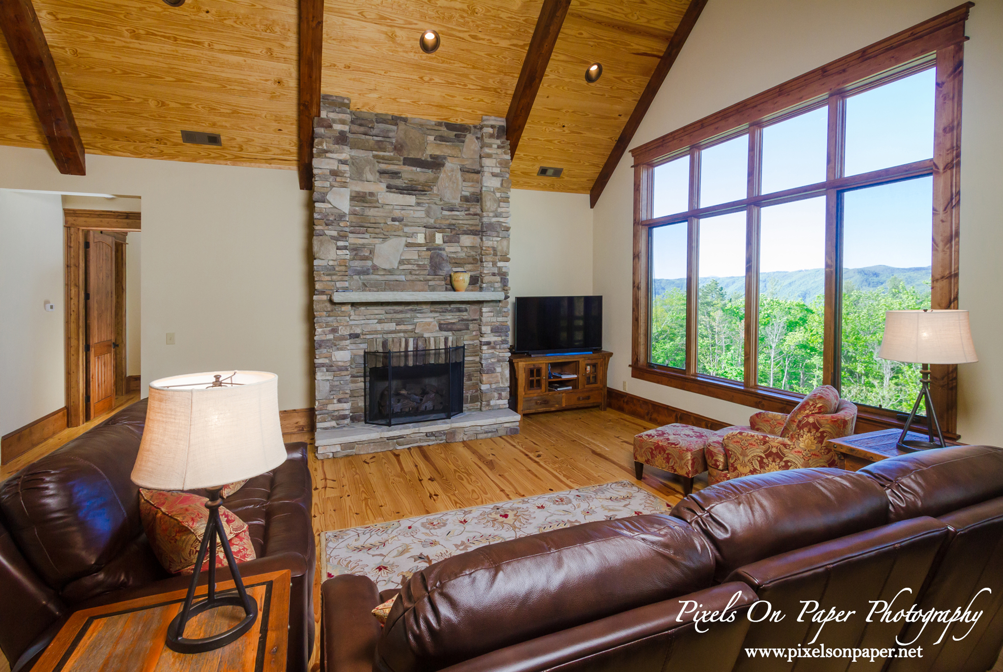 MBI Builders custom home blue ridge mountain club architectural photography pixels on paper commercial photographers photo