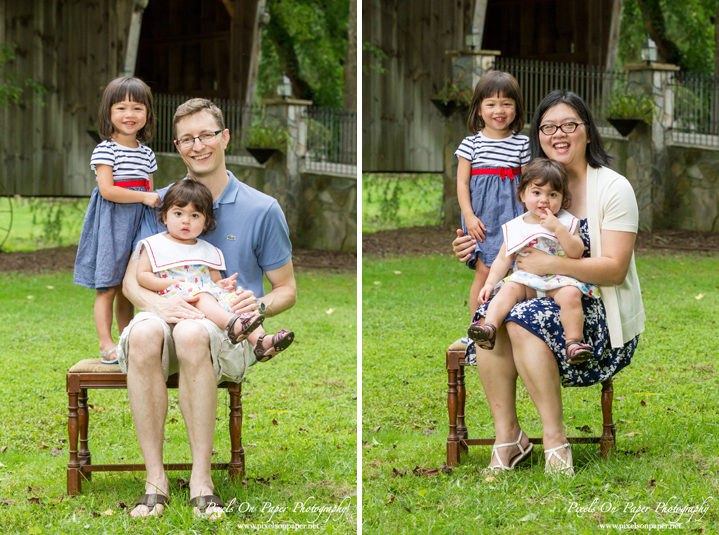 Hon family outdoor portrait Dobson NC Pixels On Paper family photographers photo
