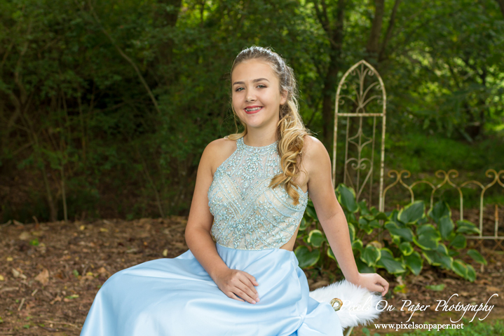 Stacie's outdoor portrait Bridal Traditions prom commerical photography by Pixels On Paper Wilkesboro NC Photographers photo