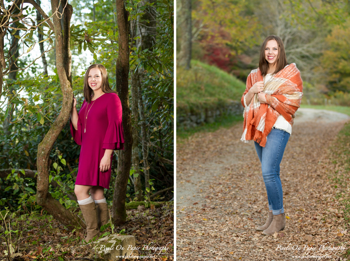 Outdoor Fall Senior Portrait Pixels On Paper Photography Boone, Blowing Rock, Wilkesboro NC Photographers Photo